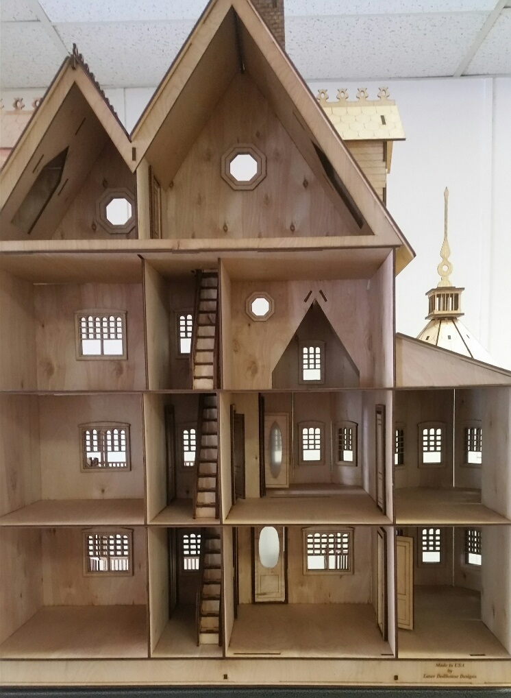 Ashley Victorian 112 scale Dollhouse Kit