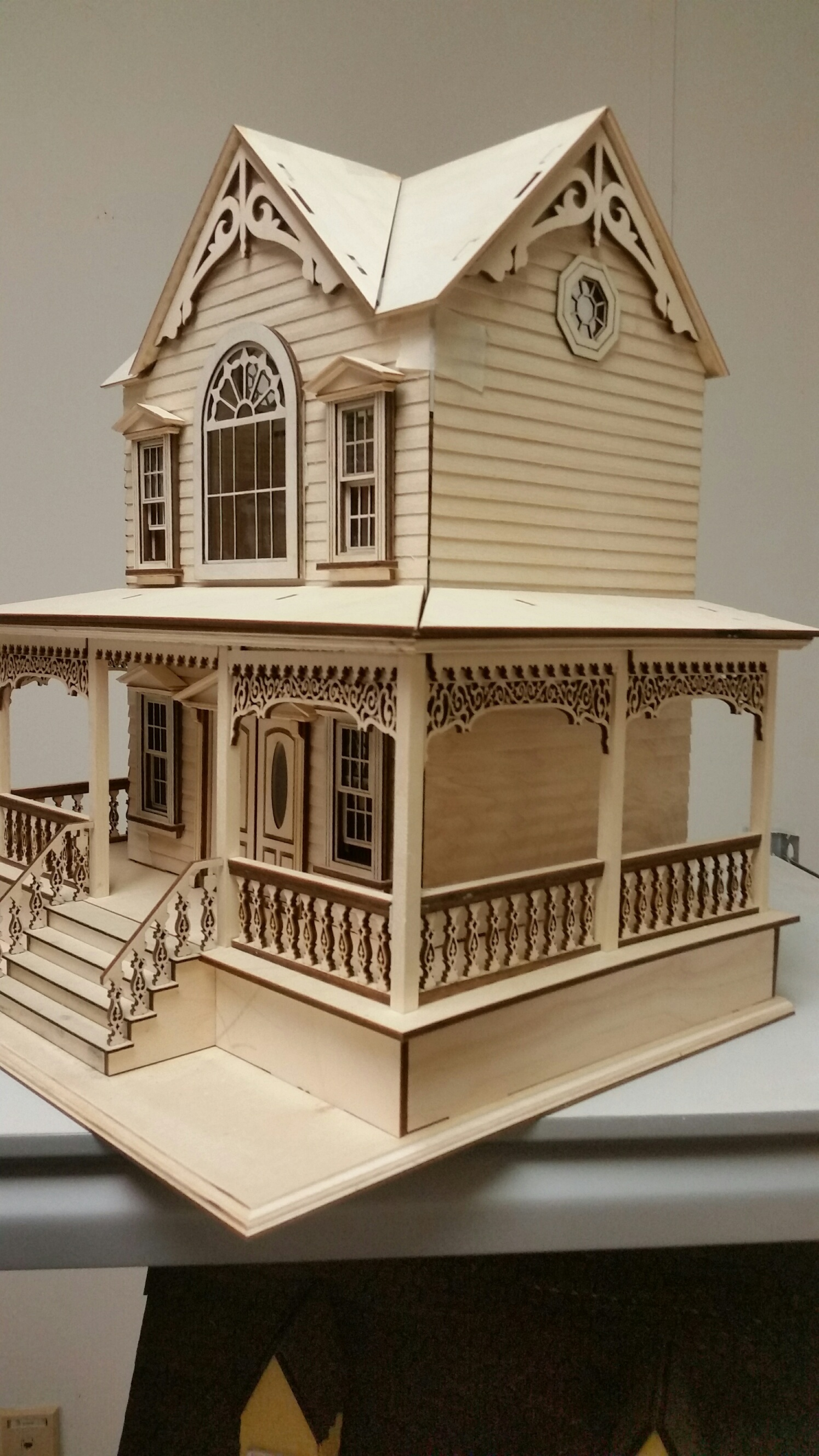 Little Briana Country Victorian Cottage 124 Scale