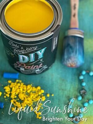 Liquid Sunshine NEW DIY Paint Color at Shizzle Design