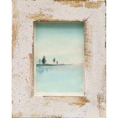 Aziza Saliev -- Blue Lake Serenity