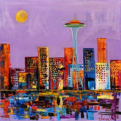 Aziza Saliev -- Purple Seattle