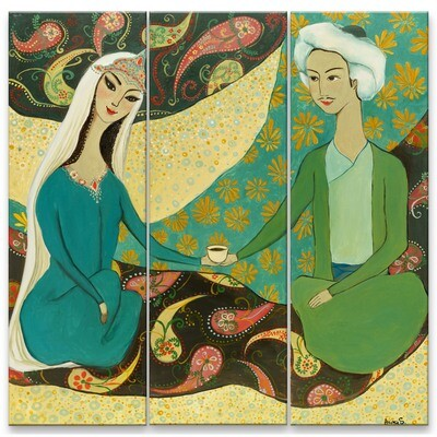 Aziza Saliev -- Tea