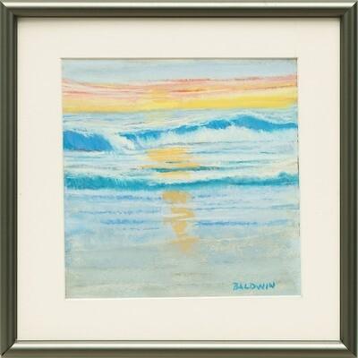 Jerry Baldwin -- Evening Surf