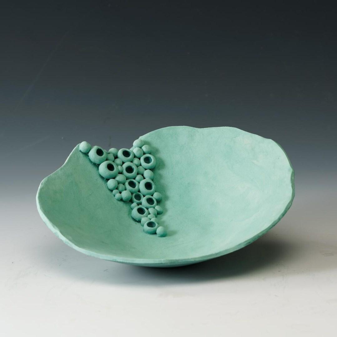 Hilda Bordianu -- Emerald Fantasy II (bowl)