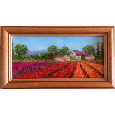 Hilda Bordianu -- Tulip Field
