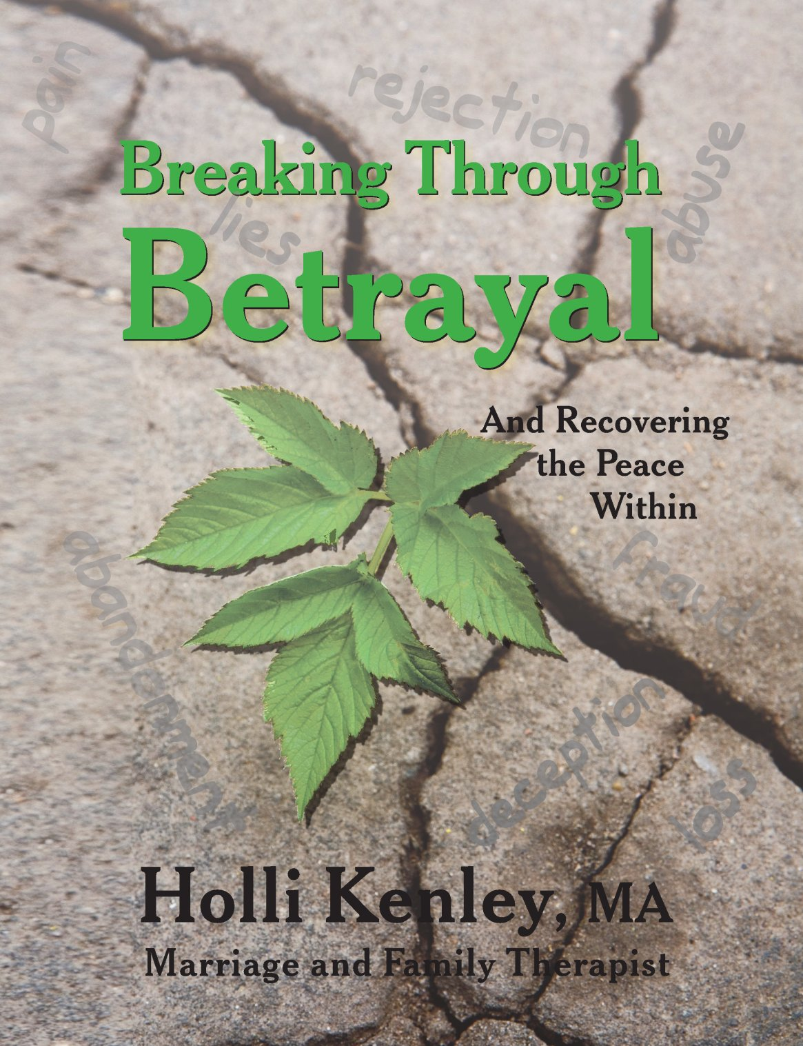 Breaking Through Betrayal: And Recovering the Peace Within 978-1-61599-009-2