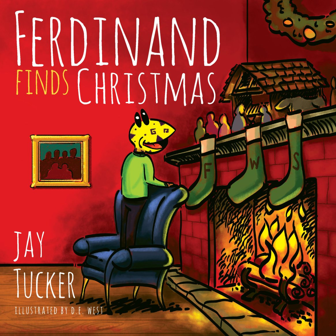 Ferdinand Finds Christmas 978-1-61599-253-9