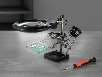 Lupa LED para mecánica de precisión Con lupa LED
