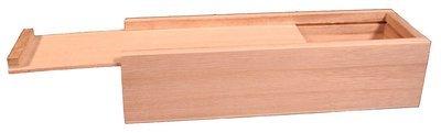 Unfinished Wooden Pencil, Pen, Vape, Stash, Trinket Storage Box with Slide Top