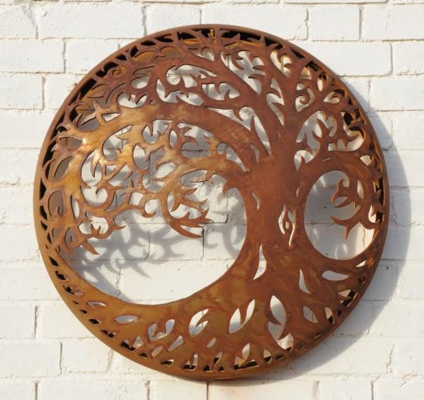 Illuminated Wall Mount - Tree of Life Design 725mm