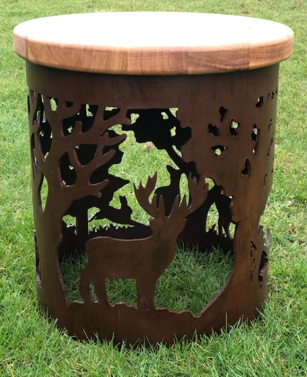 Carved Stool - English Country Design StoolECOL