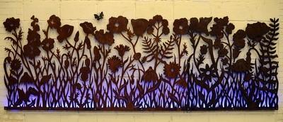 Wildflower Wall Panel