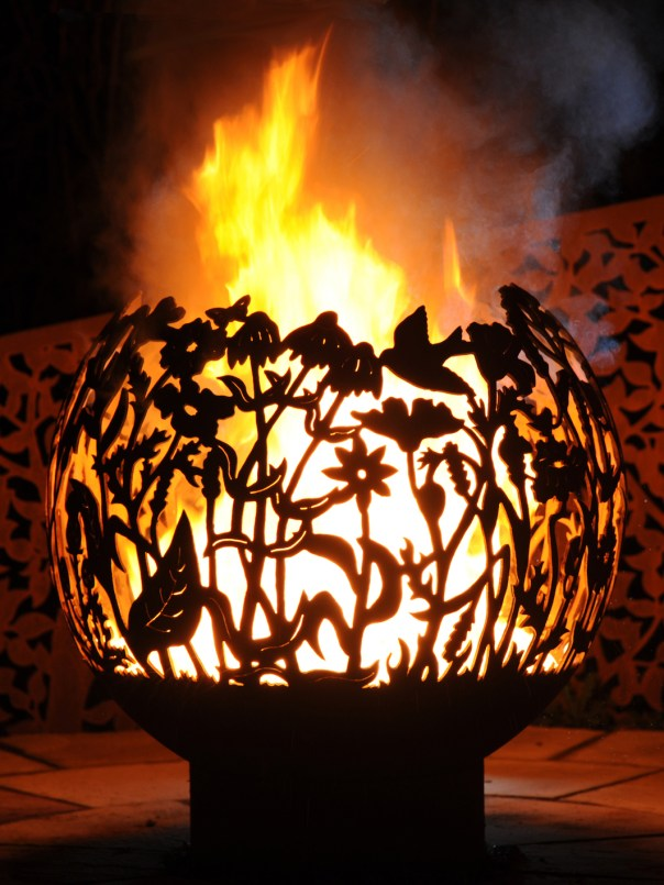 650mm Wildflower Firepit 650WFOL