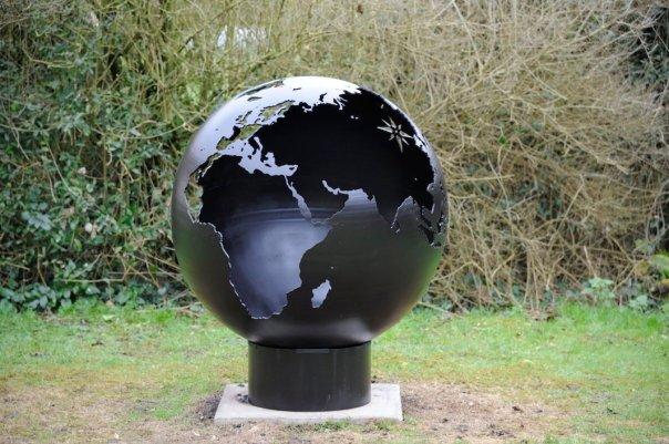 800mm Globe Firepit 800GlobeOL