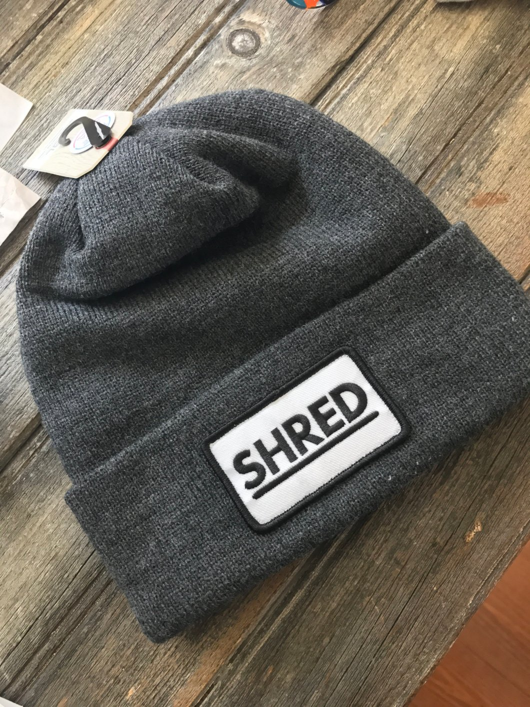 Official SHRED X Coal Beanie 12508