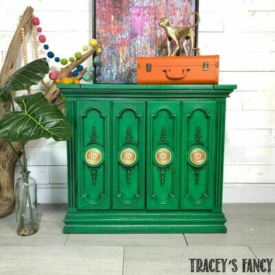 Emerald Green Buffet/Server