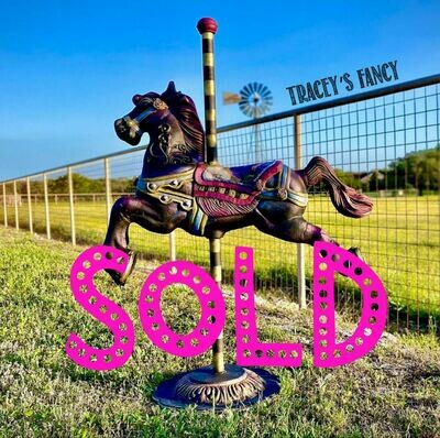[SOLD] Carousel Horse