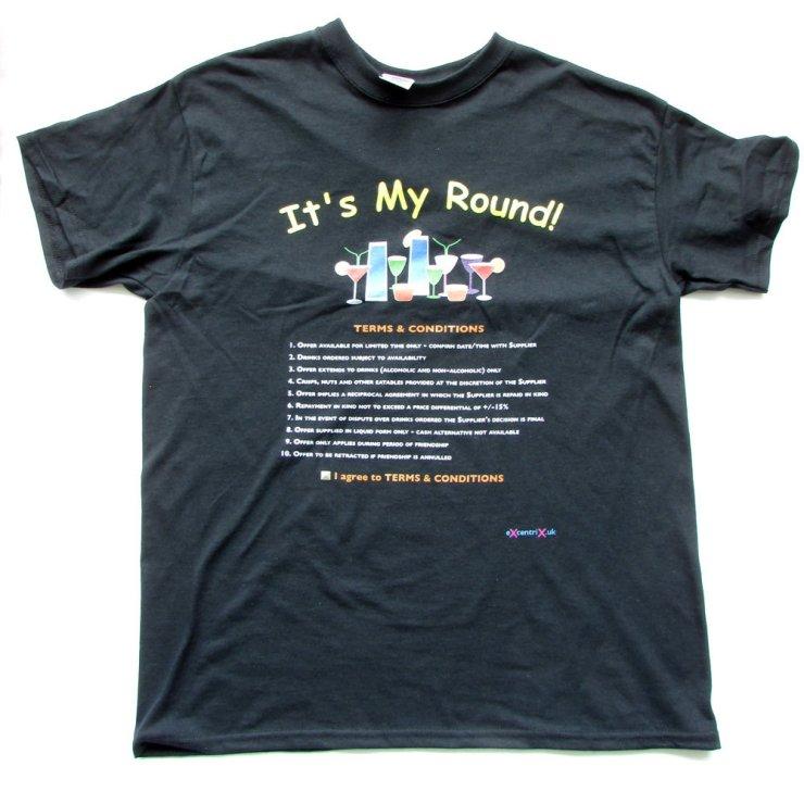 eXcentriX - It's My Round! T-shirt