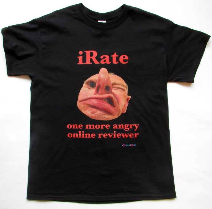 eXcentriX – iRate T-shirt