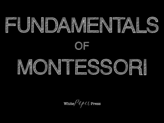Fundamentals of Montessori 001