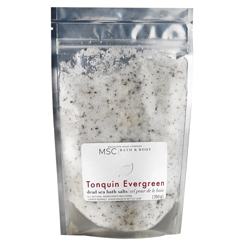 Tonquin Evergreen Dead Sea Bath Salts BATH-TONQUIN
