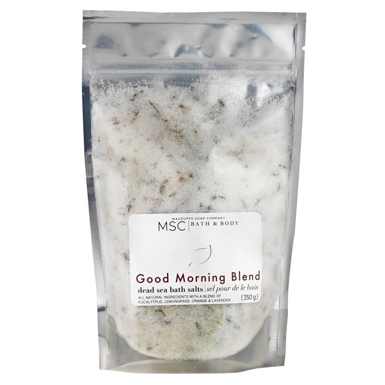 Good Morning Blend Dead Sea Bath Salts BATH-GOODMORNING