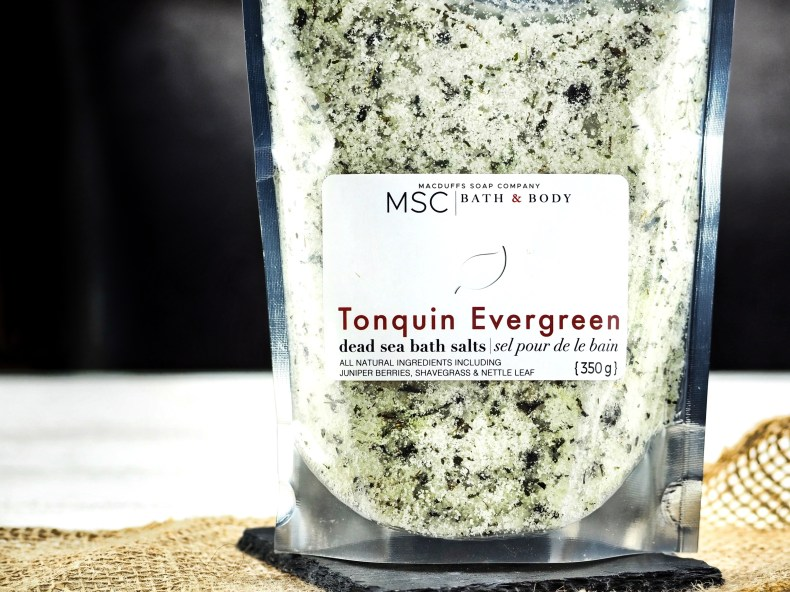 Tonquin Evergreen Dead Sea Bath Salts