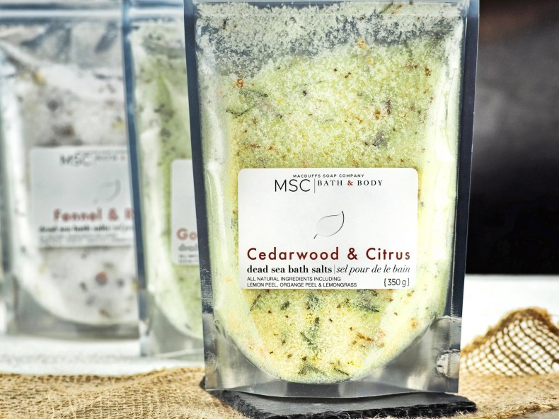 Cedarwood & Citrus Dead Sea Bath Soak
