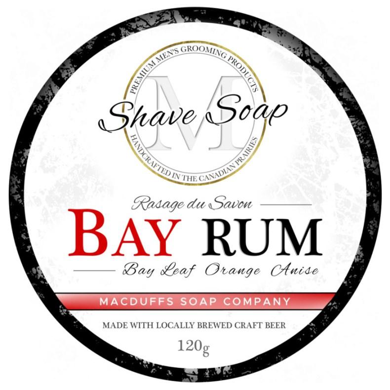 Bay Rum Shave Soap MGP-BAYRUMSHAVE