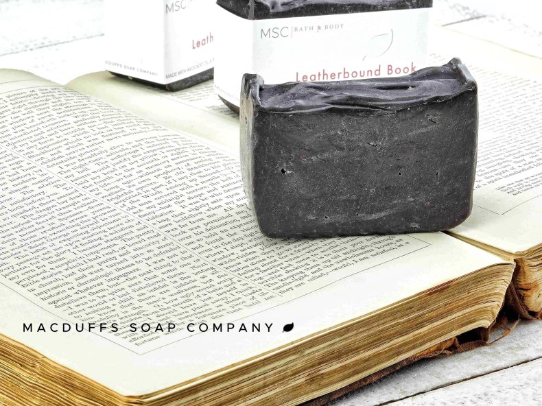 Leatherbound Book Soap Bar