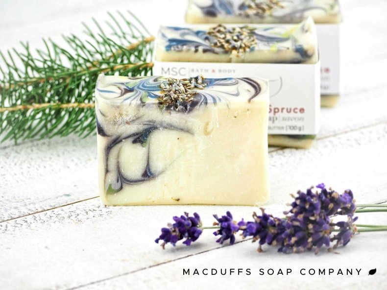 Lavender & Spruce