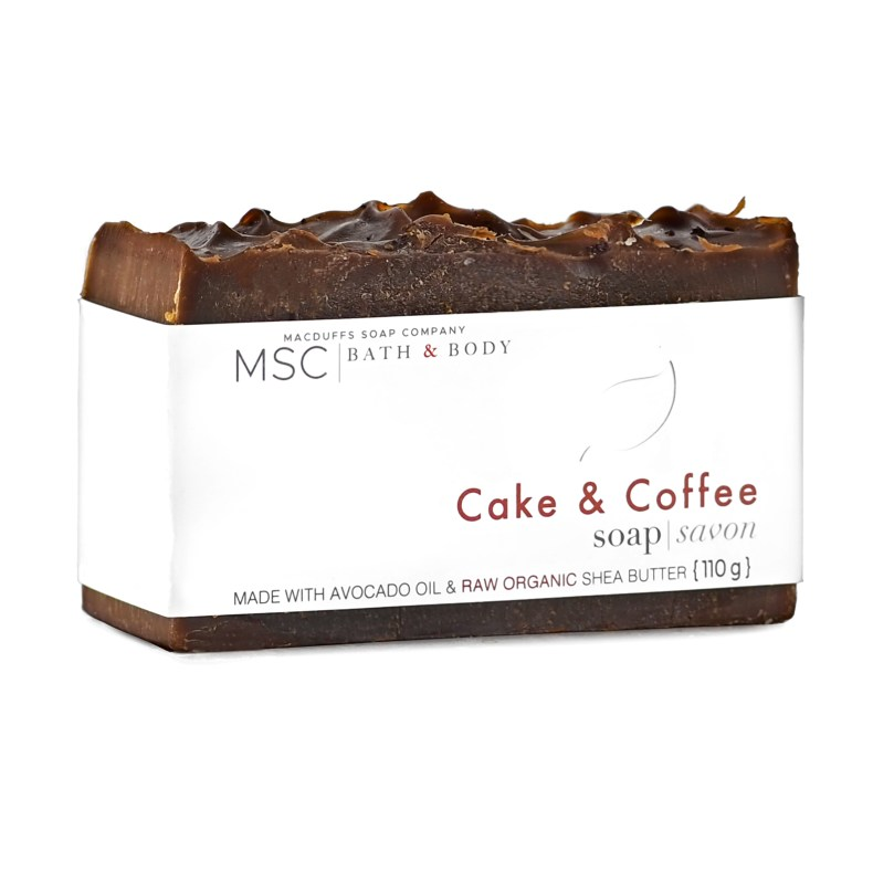 Cake & Coffee Handcrafted Bar Soap SOAP-CAKECOFFEE