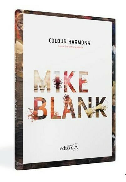 Colour Harmony Inside the Artist's Palette by Mike Blank