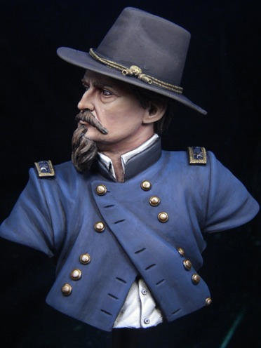 APG 4 General Hancock 1/9 th scale unpainted bust APG4
