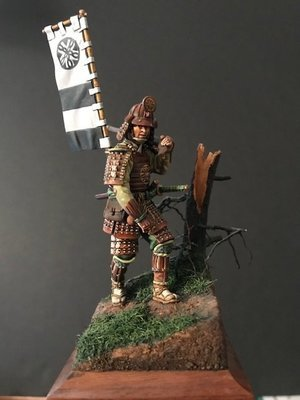 Teppo Oda Nabunaga's Army, Battle of Nagashimo 1575 54mm by Jesus Gammara