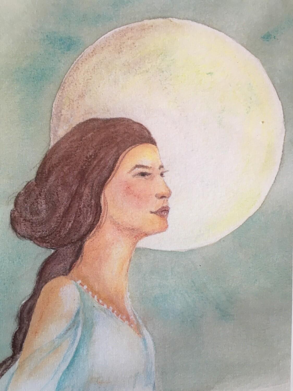 Mond-Mutter Jahreskreis
