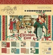 A Christmas Carol 12x12 Paper Pack