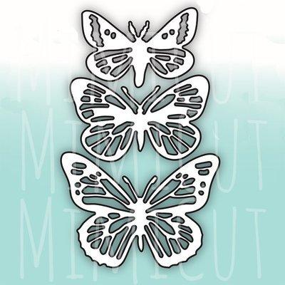 MIMICUT Metal Die Butterflies