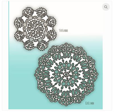 MIMICUT Metal Die Crocheted