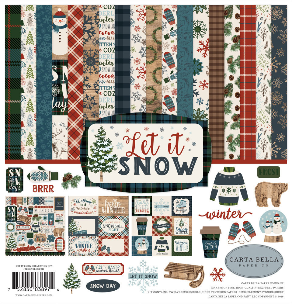 Let It Snow Collection Kit 12
