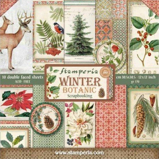 "Winter Botanic 12"" Paper Pack 00460"