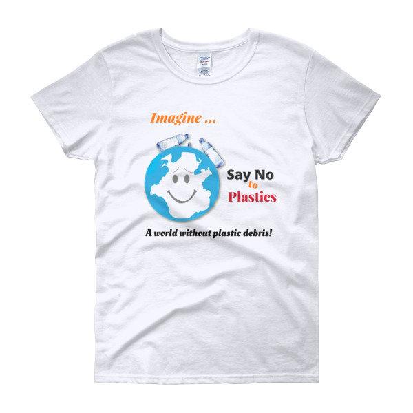 Women's short sleeve t-shirt 00010
