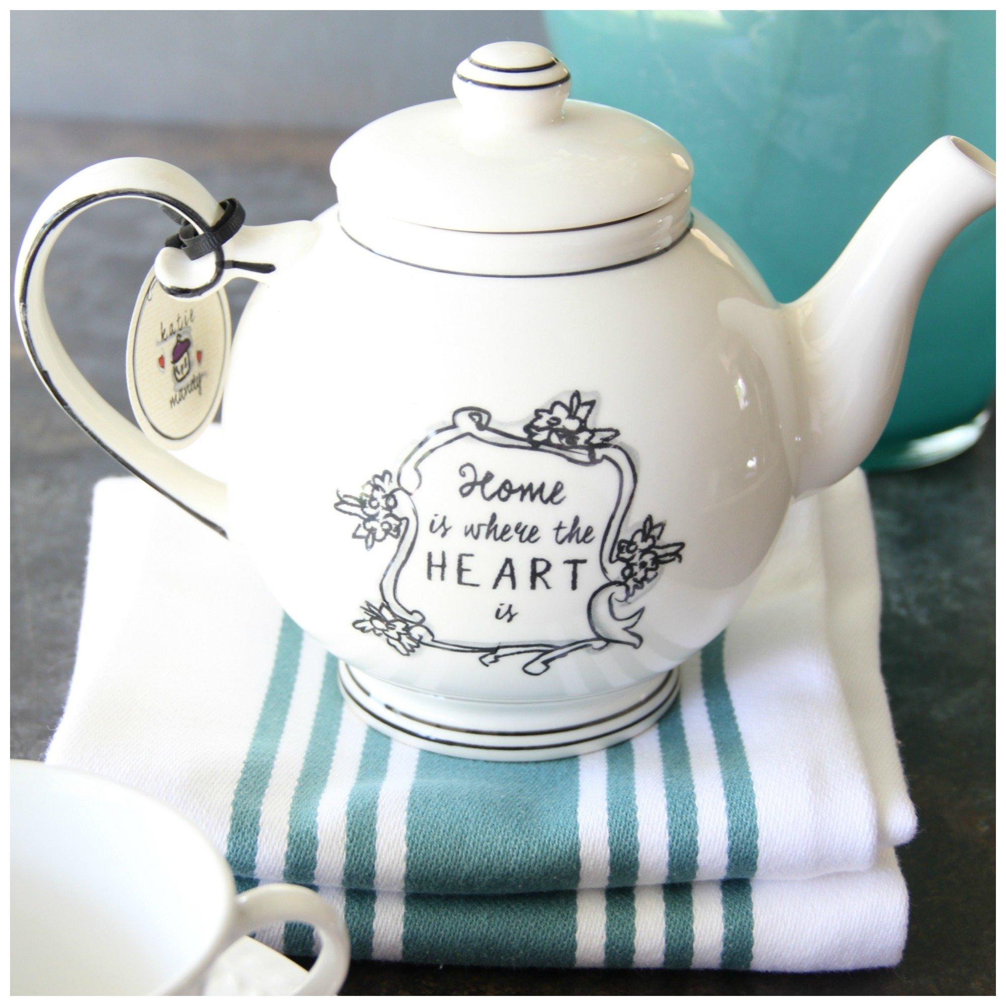 Home Is Where The Heart Is Teapot 00007