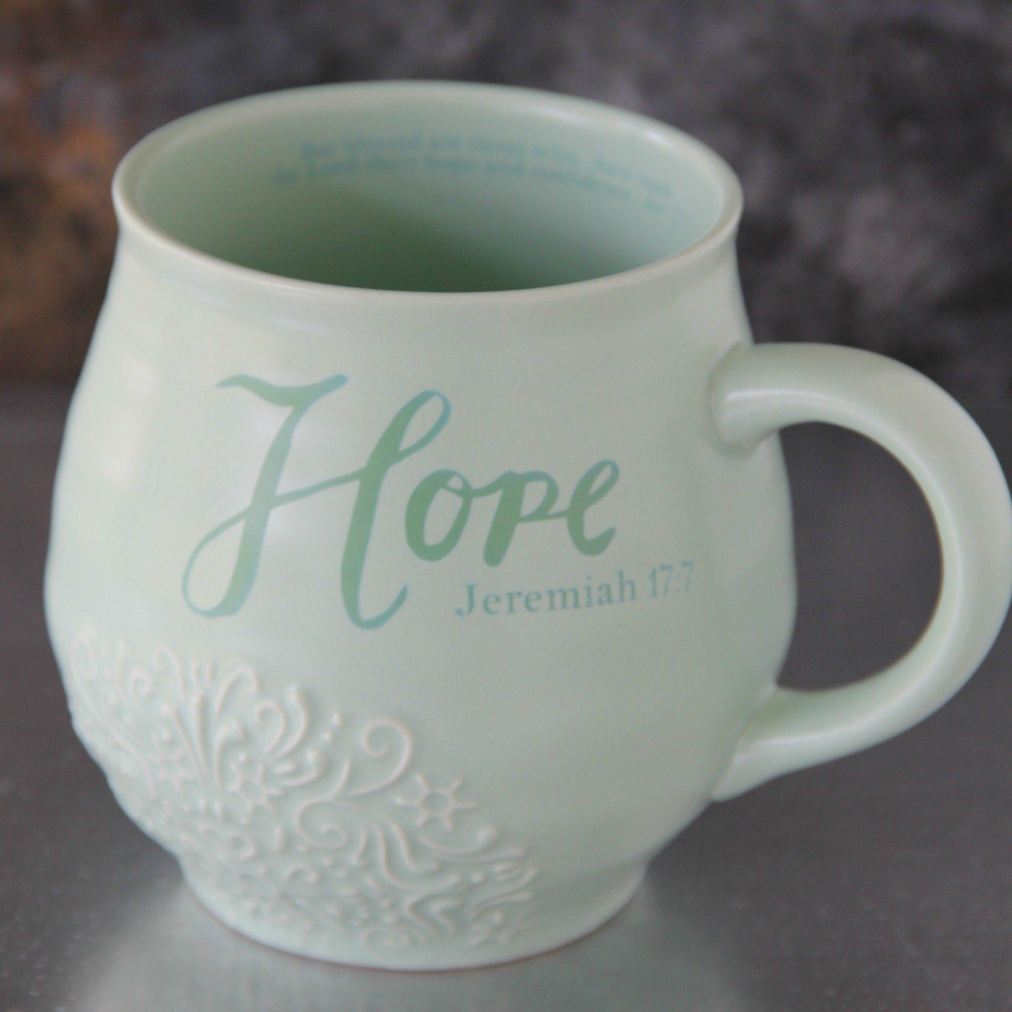 Hope Stoneware Scripture Mug 00018