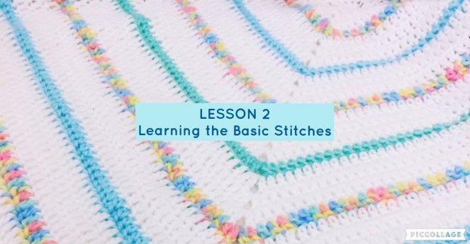 Beginner Series - Lesson 2 - the Basic Stitches 00014