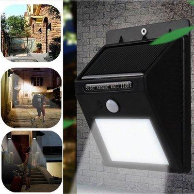 Solar Lights 8 LED Wireless Waterproof Motion Sensor Outdoor Light for Patio, Deck, Yard, Garden