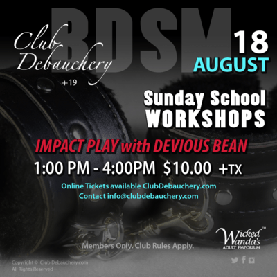 Sunday School Workshops