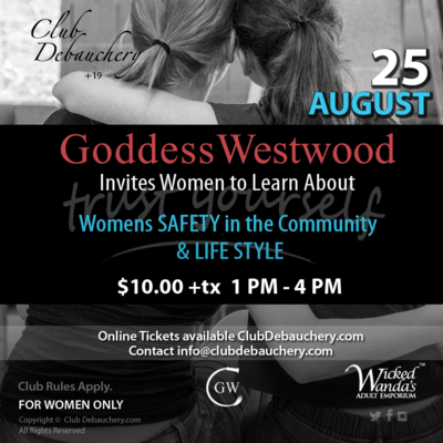 Womens SAFETY in the Community & LIFE STYLE