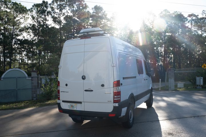 NCV3 Mercedes Sprinter Modular Touring Style Flat Roof Rack
