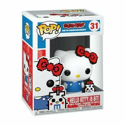 Funko Pop Hello Kitty 45th Anniversary Hello Kitty (8 Bit) #31